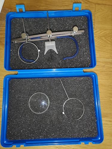 varga skytteglasögon med  1,0 styrkeglas